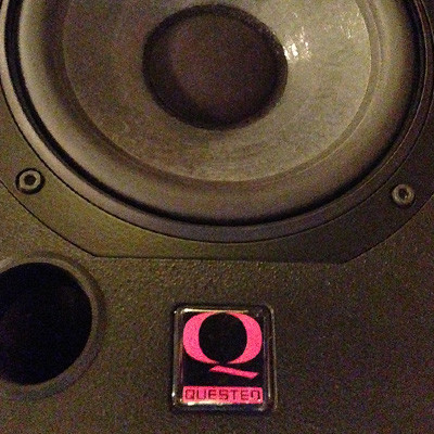 Quested 102 powered with Hot House Professional Audio M500 Amps