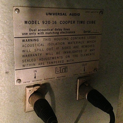 Universal Audio Cooper Time Cube